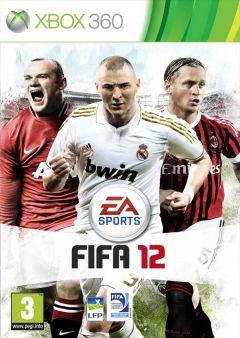 Jaquette de FIFA 12 Xbox 360