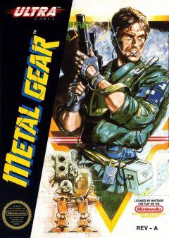 Jaquette de Metal Gear NES