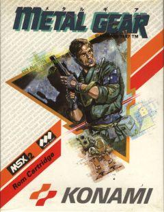 Jaquette de Metal Gear MSX2