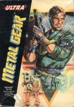 Jaquette de Metal Gear Commodore 64