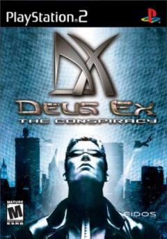 Jaquette de Deus Ex PlayStation 2