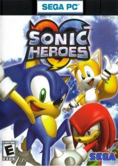 Jaquette de Sonic Heroes PC