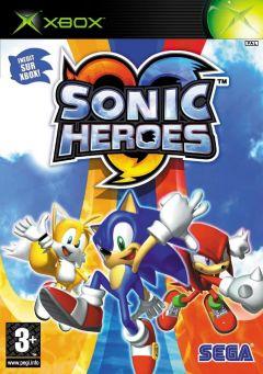 Jaquette de Sonic Heroes Xbox