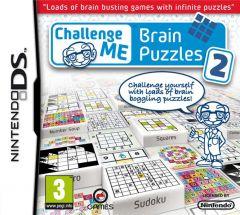 Jaquette de Challenge Me : Brain Puzzles 2 DS