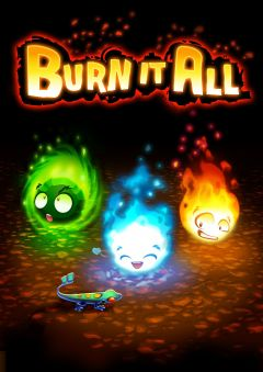 Jaquette de Burn it All : Journey to the Sun Mac