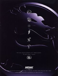Jaquette de Mortal Kombat 3 Arcade