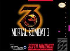 Jaquette de Mortal Kombat 3 Super NES