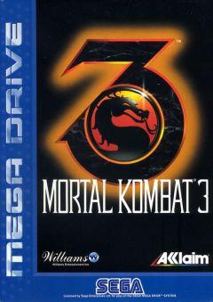 Jaquette de Mortal Kombat 3 Megadrive