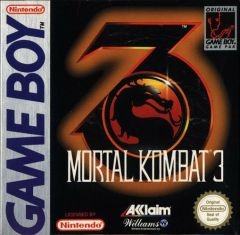 Jaquette de Mortal Kombat 3 Game Boy