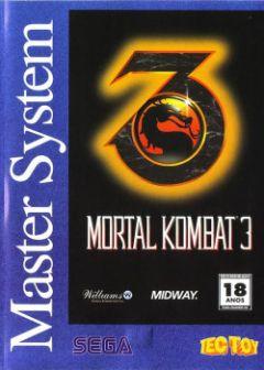 Jaquette de Mortal Kombat 3 Master System
