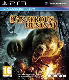 Jaquette de Cabela's Dangerous Hunts 2011 PlayStation 3