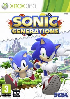 Jaquette de Sonic Generations Xbox 360