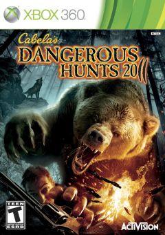 Jaquette de Cabela's Dangerous Hunts 2011 Xbox 360