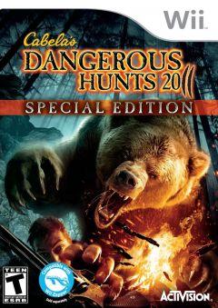 Jaquette de Cabela's Dangerous Hunts 2011 Wii