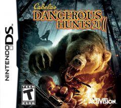 Jaquette de Cabela's Dangerous Hunts 2011 DS