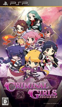 Jaquette de Criminal Girls PSP