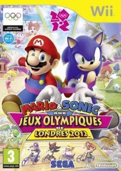 Jaquette de Mario & Sonic aux Jeux Olympiques de Londres 2012 Wii