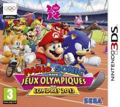 Jaquette de Mario & Sonic aux Jeux Olympiques de Londres 2012 Nintendo 3DS