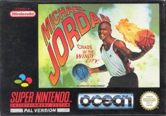 Jaquette de Michael Jordan : Chaos in the Windy City Super NES