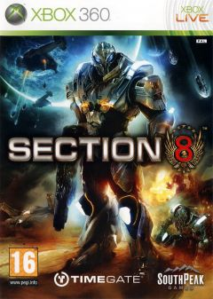 Jaquette de Section 8 Xbox 360