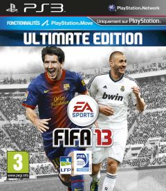 Jaquette de FIFA 13 PlayStation 3