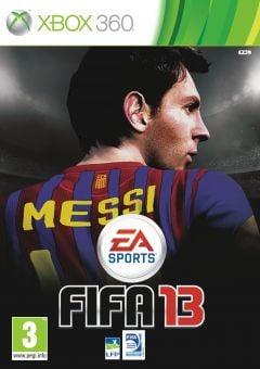Jaquette de FIFA 13 Xbox 360