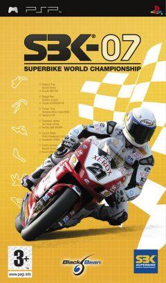 Jaquette de SBK-07 : Superbike World Championship 07 PSP