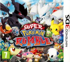 Jaquette de Super Pokémon Rumble Nintendo 3DS
