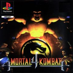 Jaquette de Mortal Kombat 4 PlayStation