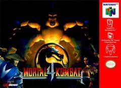 Jaquette de Mortal Kombat 4 Nintendo 64