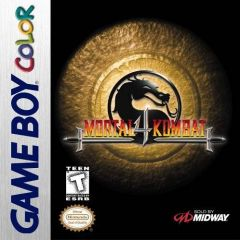 Jaquette de Mortal Kombat 4 Game Boy Color