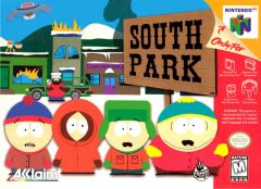 Jaquette de South Park Nintendo 64