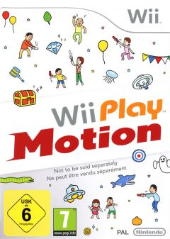 Jaquette de Wii Play Motion Wii