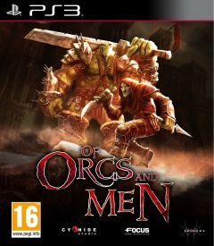 Jaquette de Of Orcs and Men PlayStation 3
