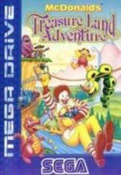 Jaquette de McDonald's Treasure Land Adventure Mega Drive