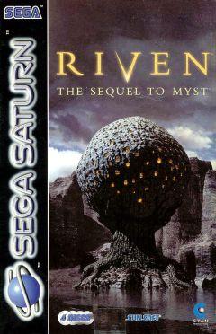 Jaquette de Riven : La Suite de Myst Sega Saturn