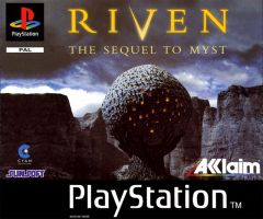 Jaquette de Riven : La Suite de Myst PlayStation