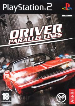 Jaquette de Driver : Parallel Lines PlayStation 2
