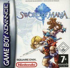 Jaquette de Sword of Mana Game Boy Advance
