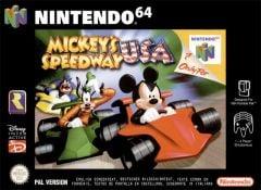 Jaquette de Mickey's Speedway USA Nintendo 64