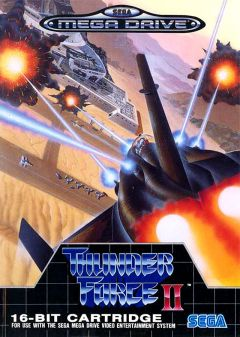 Jaquette de Thunder Force II Mega Drive