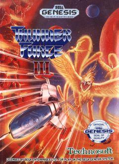 Jaquette de Thunder Force III Mega Drive
