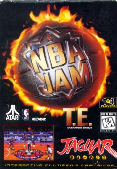 Jaquette de NBA Jam : Tournament Edition Jaguar