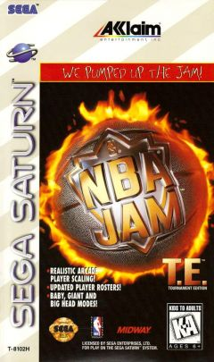 Jaquette de NBA Jam : Tournament Edition Sega Saturn
