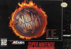 Jaquette de NBA Jam : Tournament Edition Super NES