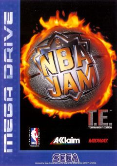 Jaquette de NBA Jam : Tournament Edition Mega Drive