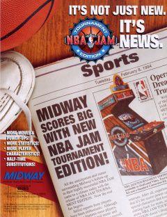 Jaquette de NBA Jam : Tournament Edition Arcade