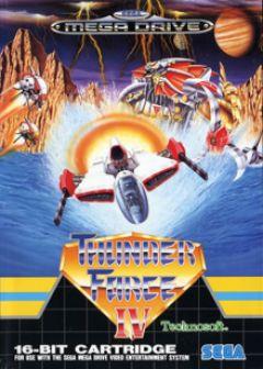 Jaquette de Thunder Force IV Megadrive