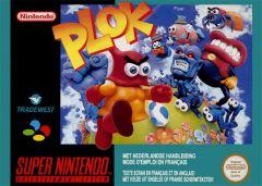Jaquette de Plok Super NES