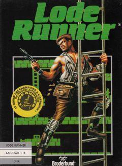 Jaquette de Lode Runner Amstrad CPC